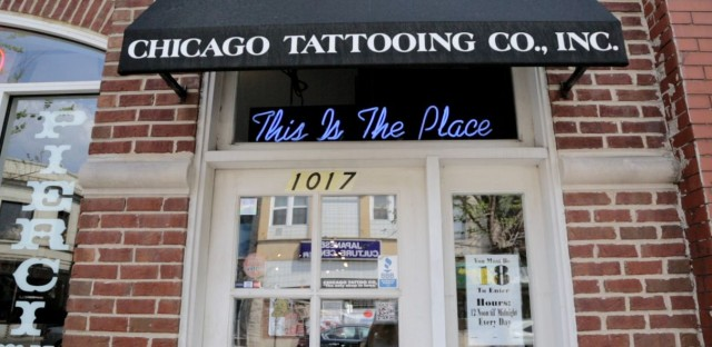 Chicago Tattoo and Piercing Co. is located at 1017 W. Belmont Ave.