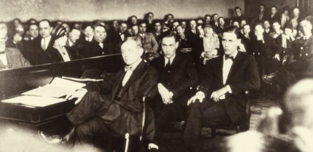 Clarence Darrow defends Leopold & Loeb