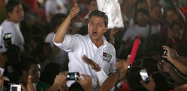 Mexican President Enrique Pena Nieto's drug strategy