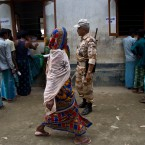 Villagers stand in queues to check for their names in the final list of the National Register of Citizens (NRC) at an NRC center in Pabhokati village in Morigaon district, in the northeastern Indian state of Assam, Saturday, Aug. 31, 2019. India has published the final citizenship list in the Indian state of Assam, excluding nearly two million people amid fears they could be rendered stateless. The list, known as the National Register of Citizens (NRC), intends to identify legal residents and weed out illegal immigrants from the state.