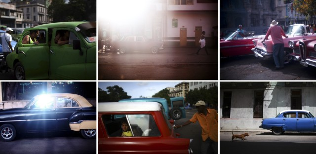"""When David Gilkey was headed off to Cuba to shoot some of our stories, his editor told him there was one cliché he should absolutely avoid: cars. From the story """"We Said 'No Car Pictures',"""" 2014."""