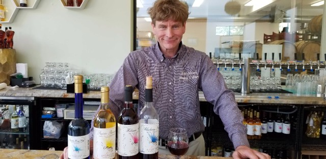 Greg Fischer is the owner of Wild Blossom Meadery & Winery, Chicago's first winery and only meadery.