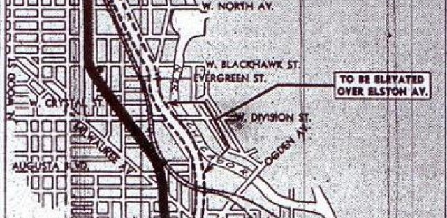 Northwest Expressway, 1946 route revision