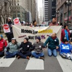 Lincoln Yards Protestors