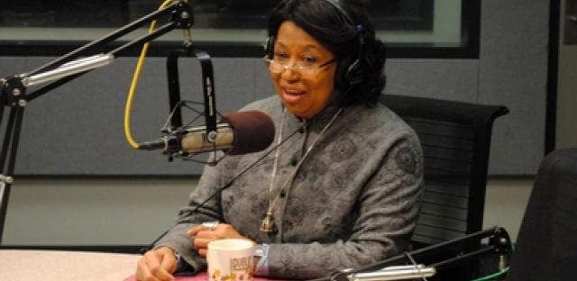 Chicago mayoral candidate Carol Moseley Braun