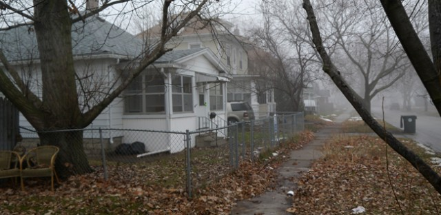 Federal prosecutors say Chicagoans were dealing heroin on streets like this in Waterloo, Iowa.