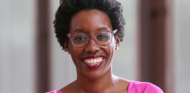 2018 file photo, Illinois Democratic Congressional candidate Lauren Underwood poses for a photo in Chicago.