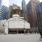 The Seventeenth Church of Christ, Scientist sits on a corner of prime real estate at the intersection of Wabash Ave. and Wacker Drive in downtown Chicago. Question-asker Monica Schrager wants to know how the church  has held on to that property for so long.