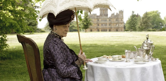 Dowager Purple Dress still
