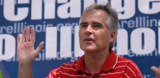 Facing rebellion, state GOP chair rejects calls to resign over gay marriage support