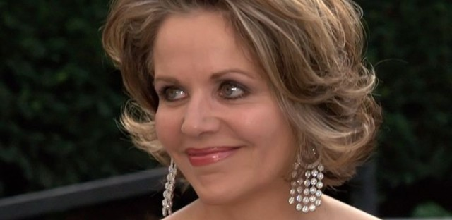 Renée Fleming at the 2009 premiere of the Metropolitan Opera in New York City.