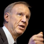 Illinois Republican Gov. Bruce Rauner speaks at an event in Springfield, Ill. on March 4, 2015.