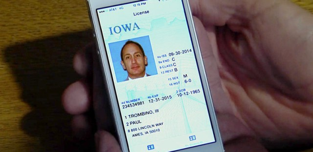 A plan to put your driver's license on your phone