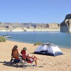 Lake Powell, Lone Rock Beach.