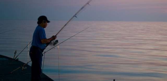 Illinois fishermen hit the waters for the opening of trout season