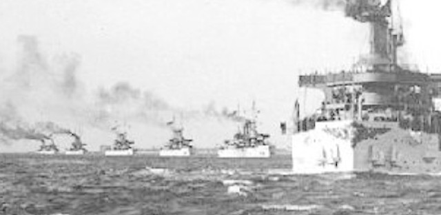 World History Moment: Voyage of the Great White Fleet