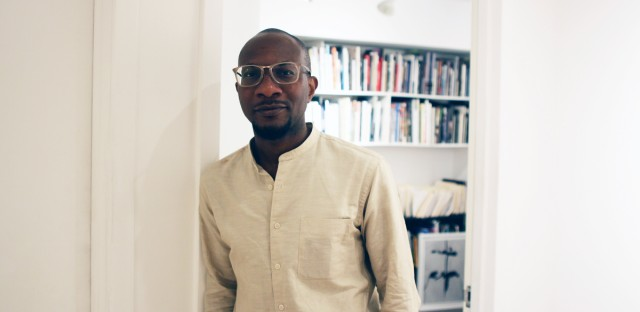 """Author, photographer and Harvard University professor Teju Cole curated the """"Go Down Moses"""" exhibit at the Museum of Contemporary Photography at Columbia College Chicago."""