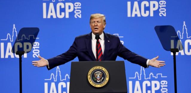 Trump IACP speech