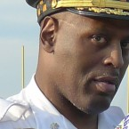 Commander pleads not guilty to police-brutality charges