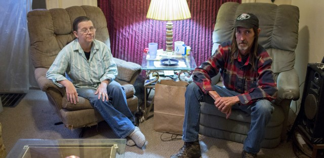 Keith Berry is on disability, and his wife, Tammy, earned just above $8 an hour at a fast food chain. In 2014, the couple's medical bills exceeded $11,000.