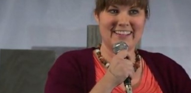 Comedian Kelsie Huff is hilarious — and she has a show tonight