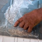 Home by the shore map photo