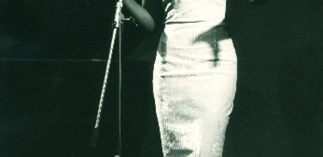 Geraldine de Haas performs as a vocalist with the trio Andy Bey and the Bey Sisters.