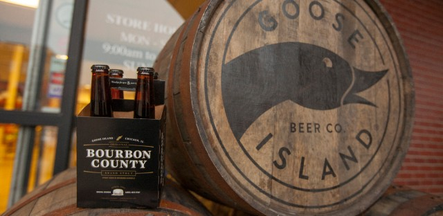 Goose Island Beer Company's limited Black Friday release of Bourbon County Brand Stout
