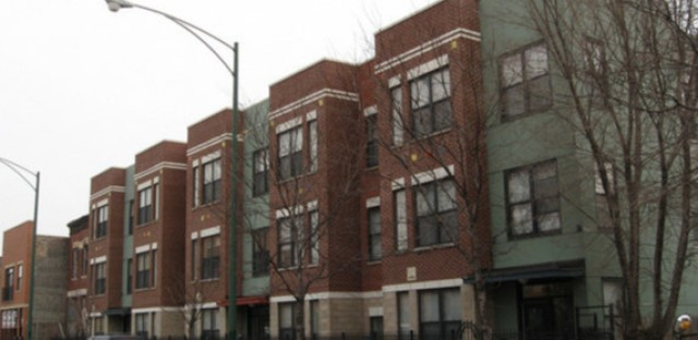 Newer apartments on Kedzie Avenue