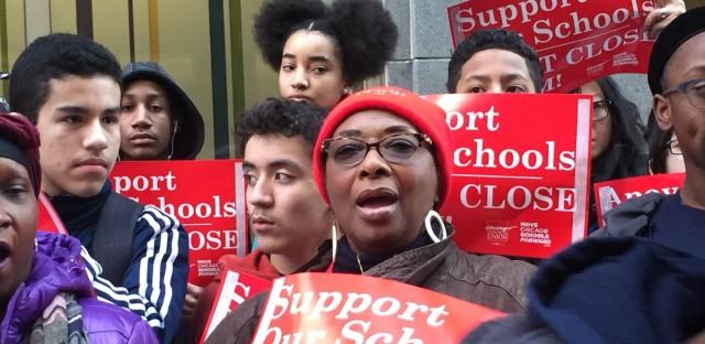 Englewood School Closing Protests