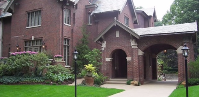 The official residence of the Governor of Indiana