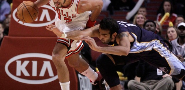 Joakim Noah and the Bulls won't roll over this season.