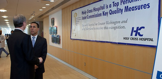 Maryland Lt. Governor Anthony Brown announced in February that all 46 acute care hospitals in the state now share information thru the state-wide Health Information Exchange program.