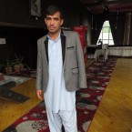 Zabihuillah Niazi, a 25-year-old nurse, lost an eye and an arm when an American AC-130 gunship shelled the Medecins Sans Frontieres trauma center in Kunduz, Afghanistan, in October 2015, killing 42 people.