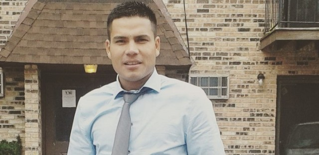 Reynold Garcia was detained just steps away from his church, where he was attending worship services one Sunday. His deportation has stunned the congregation.