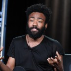 """Creator/executive producer/actor Donald Glover participates in the """"Atlanta"""" panel at the FX Networks Winter TCA on Saturday, Jan. 16, 2016, in Pasadena, Calif."""