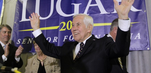 By stunning margin, Mourdock ends Lugar's Senate run