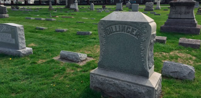 dillinger grave