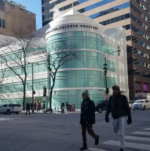 Photo of the new Starbucks Reserve Roastery on Michigan Ave in Chicago