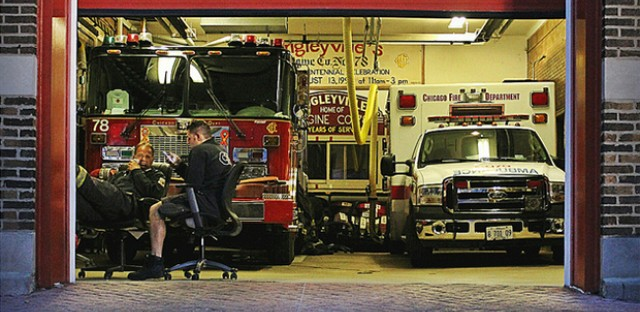 Wrigleyville Fire Station: Photo of the Day - May 15, 2013