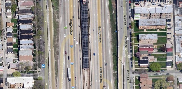 The Dan Ryan cuts through nearly 12 miles of the South Side's neighborhoods.