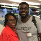 Sylvia and Marcus Bullock talked to StoryCorps about how their relationship as mother and son developed when Marcus was in prison and what it is today. Courtesy of StoryCorps