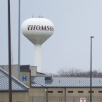 Illinois spent $170 million to build the Thomson Correctional Center in Thomson, Ill. The prison is at the heart of many residents' discontent with state and federal government this election.