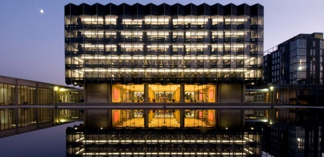 """The University of Chicago Law School building in Hyde Park is one of the buildings highlighted by Lee Bey in his new book """"Southern Exposure."""""""