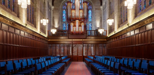 The Bond Chapel at the University of Chicago