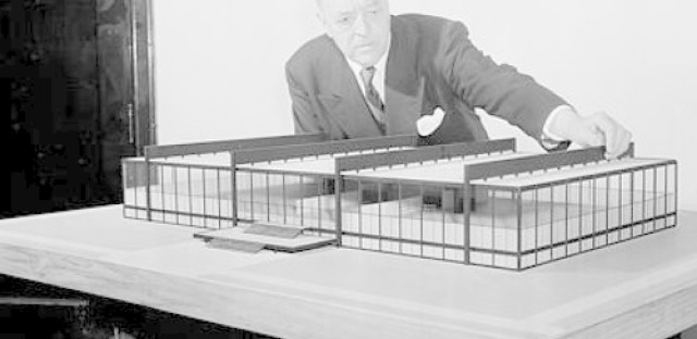 A Mies van der Rohe building gets a face-lift