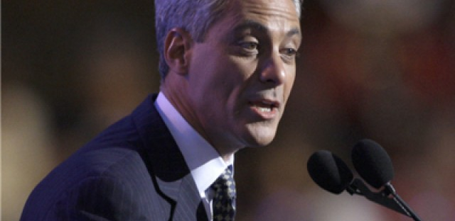 Emanuel raising big money from out-of-towners