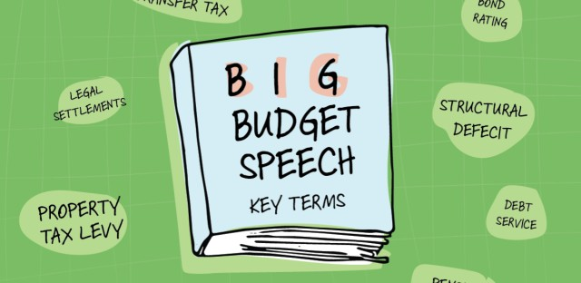 Big budget speech