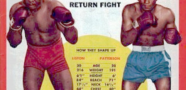 The second Liston-Patterson fight