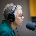Cook County Board President Toni Preckwinkle at the WBEZ studios on Tuesday, March 26, 2019.